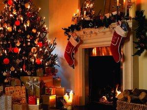Новогодняя ночь у живого камина с Дед Морозом и Снегурочкой в кафе «Чкалов»!