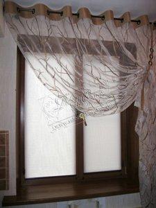 Свежие фотографии рулонных штор Мини с коричневой комплектацией