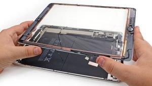 Замена тачскрина на цифровых устройствах