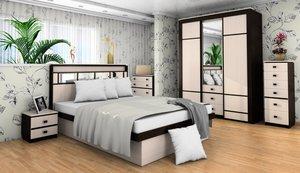 Изготовление корпусной мебели для спальни