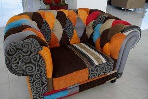 Выбрать ткань для обивки мебели в Орске. Велюр, жаккард, флок, искусственная кожа, натуральная кожа.