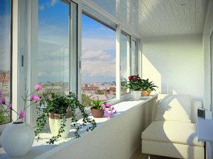 Остекление балкона: цена
