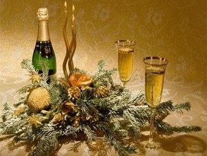 """Новогодняя ночь в кафе """"Русь"""""""
