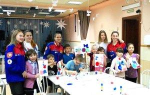 Новогодний мастер-класс с юными талантами