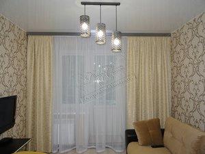 Свежие фотографии наших работ с текстильным оформлением гостиной