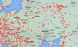 Затраты авиакомпаний возрастут из-за облета Украины.