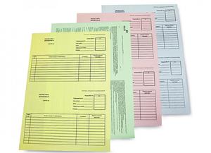 Услуги по разработке и печати бланков на заказ