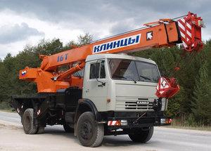 Автокран Клинцы 16 и 25 тонн