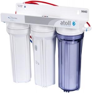 Проточный питьевой фильтр atoll в подарок!