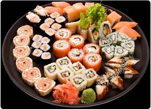 """Японская кухня в кафе-баре """"Barbaris""""!"""