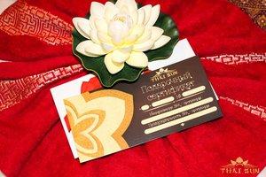 """Подарочные сертификаты к 8 марта от салона тайского массажа """"THAI SUN"""""""