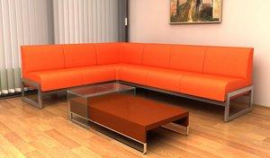Офисные диваны. Стильные и комфортные!