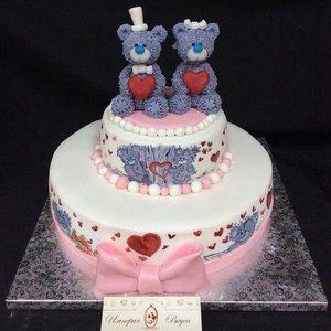 Торт с мишками на заказ в Вологде