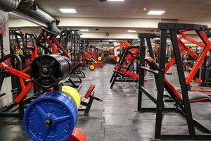 Оборудованный спорт зал в центре