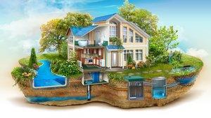 Обустройство канализации домов и коттеджей