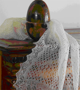 Выставка «Оренбургский пуховый платок»