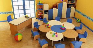 Большой ассортимент мебели для детского сада