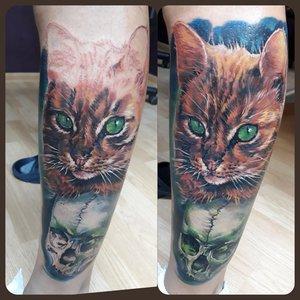 Процесс создания татуировки