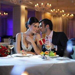 Романтический ужин на День Влюбленных!