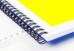 Изготовление брошюр на пластиковых или металлических пружинах