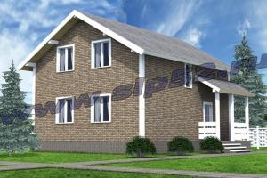 Скидка 24% на дом из СИП панелей площадью 124,1 м2 до конца октября