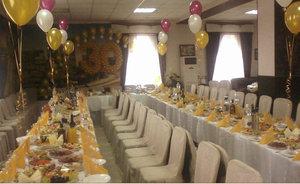 Аренда зала для проведения юбилея