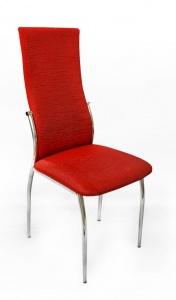 Мягкие стулья на металлокаркасе