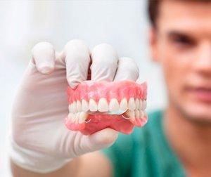 Изготовление и установка протезов зубов