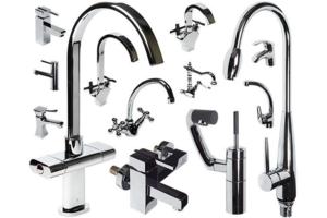 Продажа смесителей для ванной и смесителей кухни. Сантехника