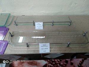 Ограничители для стеклянных полок
