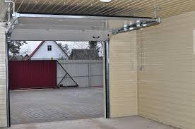 Установить гаражные автоматические ворота в Орске.