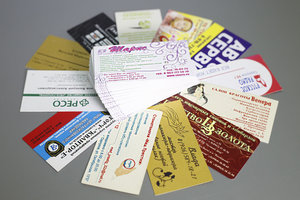 Изготовление визиток в короткие сроки