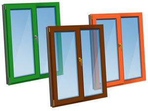 Цветные пластиковые окна по низким ценам