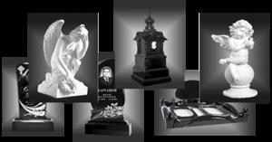 Оформление памятников и надгробий