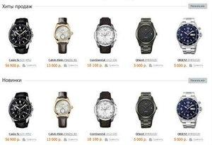 Заказать часы из интернет – магазина