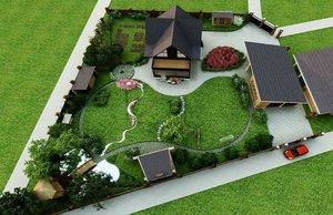 Дачный ландшафтный дизайн