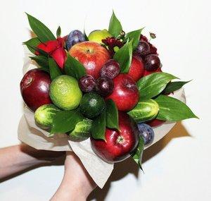 Новинка! Букеты из овощей и фруктов!