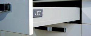 JETBOX PLUS с механизмом плавного закрывания EasyMotion.
