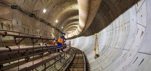 Чугунные тюбинги для строительства тоннелей