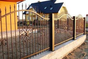 Металлический забор на заказ - надежное и долговечное ограждение для любых территорий