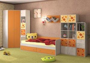 Заказать детскую корпусную мебель