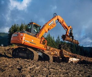Перегружатели металлолома и леса DOOSAN в Череповце
