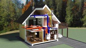 Проектирование систем отопления частного дома