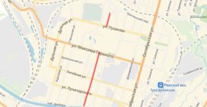 Улица Штыковая в Туле