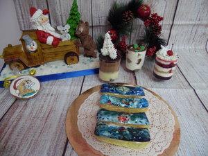 """Новогодние пряники, торты и десерты на Новый год в кондитерской """"Ванильное облако"""""""