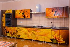 Изготовим кухню с фотопечатью в короткие сроки