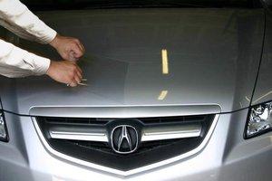Бронирование кузова автомобиля пленкой