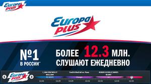 «Европа Плюс» – радиостанция № 1 в России