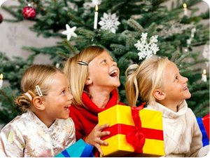 Детские новогодние подарки в Вологде