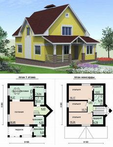 Проекты домов и коттеджей в Орске